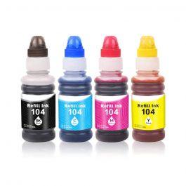 Huismerk Epson 104 XL multipack (zwart + 3 kleuren)