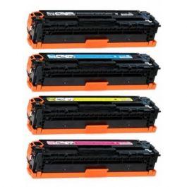 Huismerk HP 128A (CE320A-CE323A) multipack zwart + 3 kleuren