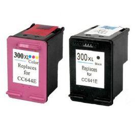 Huismerk HP 300XL zwart + kleur