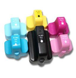 Huismerk HP 363XL multipack (zwart + 5 kleuren)