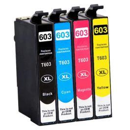 Huismerk Epson 603XL multipack (zwart + 3 kleuren)