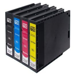 Huismerk Epson T7551 - T7554 multipack zwart + 3 kleuren incl. chip
