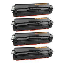 Huismerk Samsung CLT-504S multipack zwart + 3 kleuren