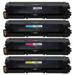 Huismerk Samsung CLT-K505L multipack (zwart + 3 kleuren)