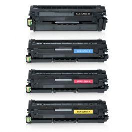 Huismerk Samsung CLT-K506L multipack zwart + 3 kleuren