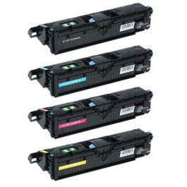 Huismerk HP 122A (Q3960A-Q3963A) multipack zwart + 3 kleuren