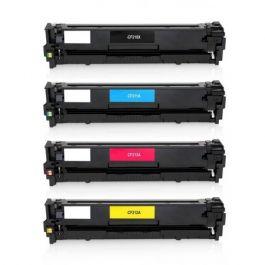 Huismerk HP 131X (CF210X-CF213A) multipack (zwart + 3 kleuren)