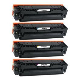 Huismerk HP 203X (CF540X-CF543X) multipack (zwart + 3 kleuren)