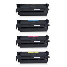 Huismerk HP 508X (CF360X-CF363X) multipack zwart + 3 kleuren