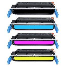 Huismerk HP 641A (C9720A-C9723A) multipack zwart + 3 kleuren