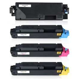 Huismerk Kyocera TK-5140 multipack zwart + 3 kleuren