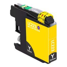 Huismerk Brother LC-223Y geel incl. chip