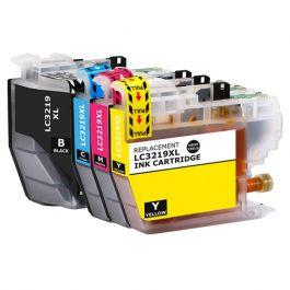Huismerk Brother LC-3219XL multipack zwart + 3 kleuren