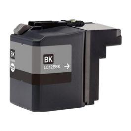 Huismerk Brother LC-12EBK zwart