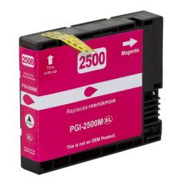 Huismerk Canon PGI-2500 XL magenta incl. chip