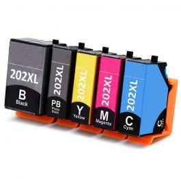 Huismerk Epson 202XL multipack (2 x zwart + 3 kleuren)