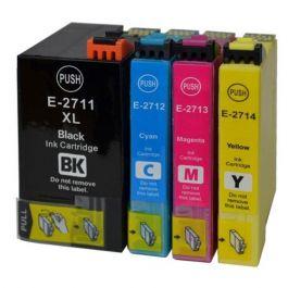 Huismerk Epson 27XL (T2715) multipack zwart + 3 kleuren incl. chip