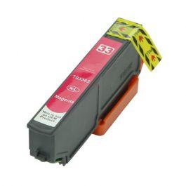Huismerk Epson 33XL (T3363) magenta incl. chip