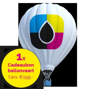 Win een Cadeaubon ballonvaart