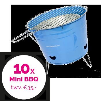 Win een Mini BBQ