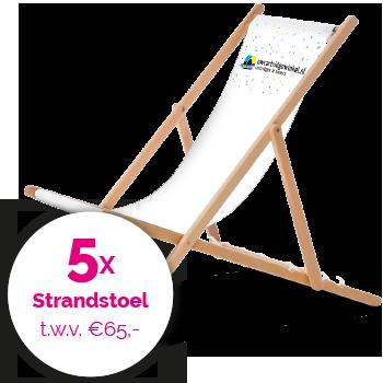 Win een Strandstoel